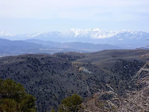 Freel Peak from the summit of Flowery Peak