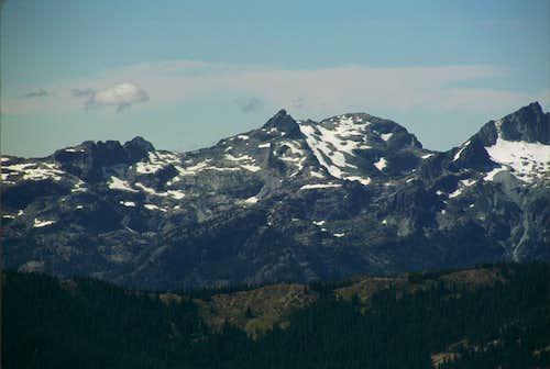 Chikamin from Davis Peak