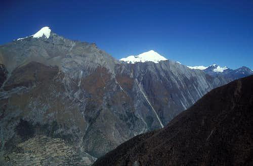 Pisang Peak and Kang Guru