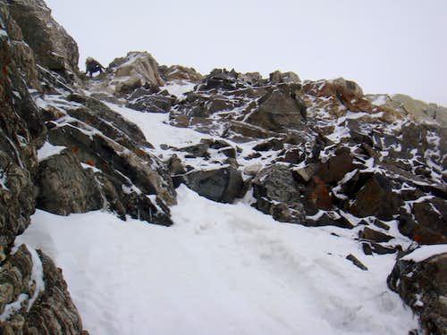Descending SW Face