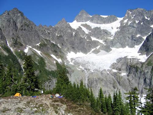 Mt. Shuksan\'s Fisher Chimneys...