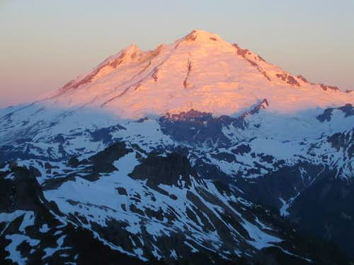 Mt. Baker\'s northeast side...