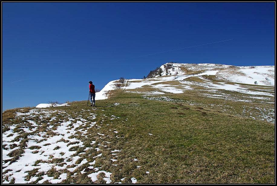 Ascending Monte Carpegna