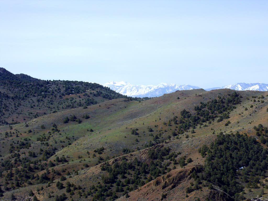 Freel Peak from the summit of Sugarloaf
