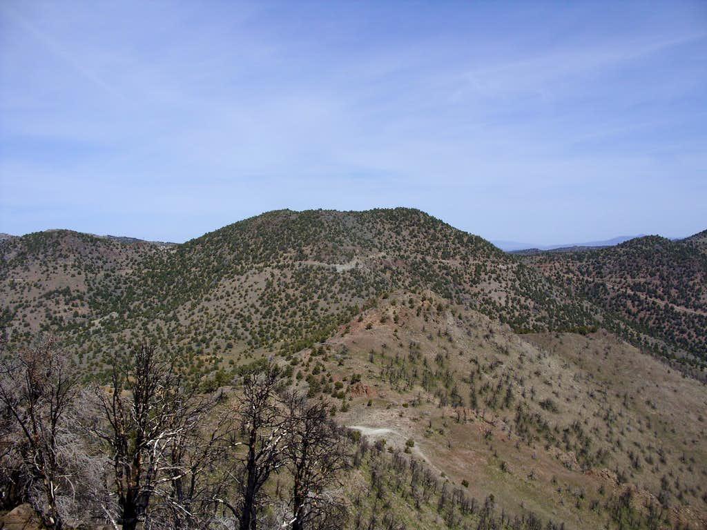 Long BM from Flowery Peak