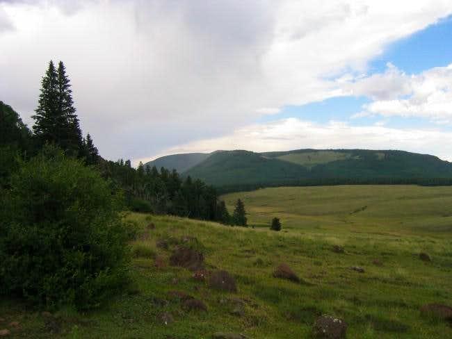 Escudilla Mountain from Terry...