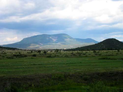 Escudilla Mountain from Sipe...