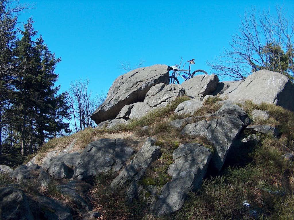 Rocky outcrop on Kalenica