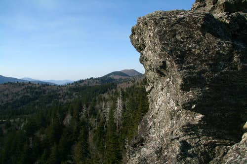 View to Sam Knob