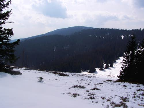 Črni vrh - the 'black hill'