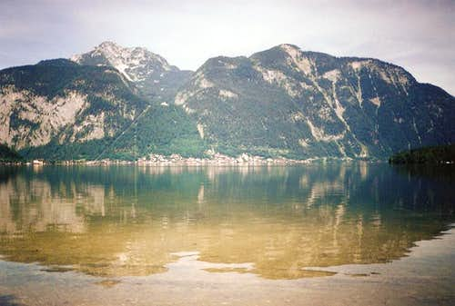 Hallstatter See reflection
