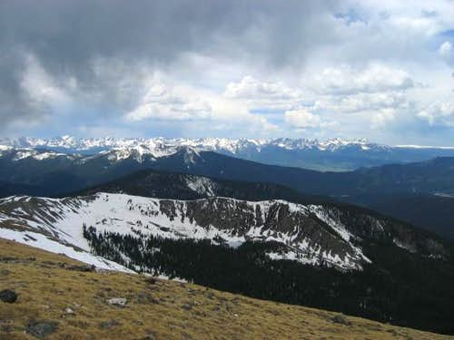 The Gore Range from the...