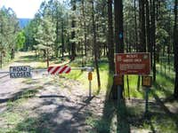 This is the trailhead for...