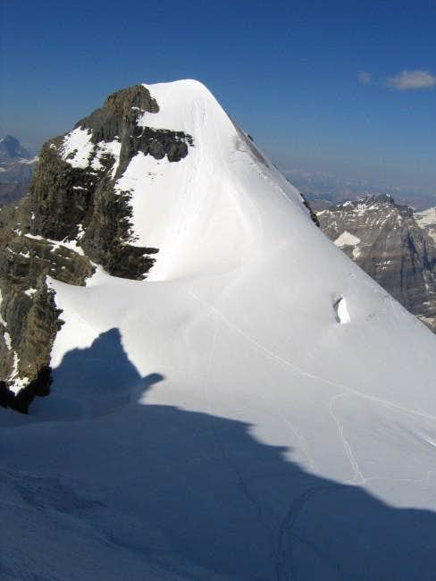 Mount Huber from Mount...