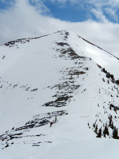 West ridge of Big Sister