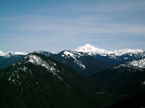 Glacier Peak from Frog Mountain