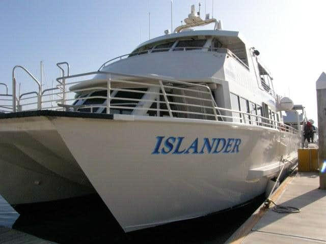Island Packers Boat