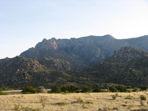Domingo Baca Canyon and Whiskey Ridge
