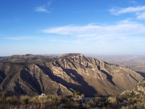 Summit of Guadalupe Peak