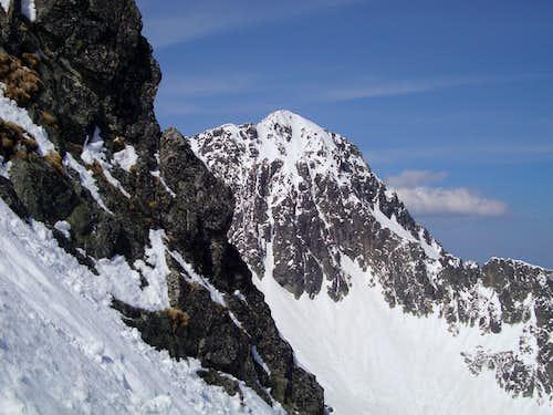 Jahnaci stit (2229m) seen from Jastrabia pass