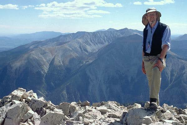 Duane on the summit of Mt....
