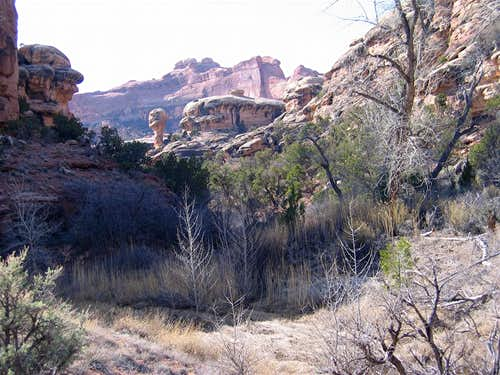 On Lost Canyon Trail, Upper Sections