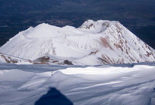 View of Shastina from Shasta