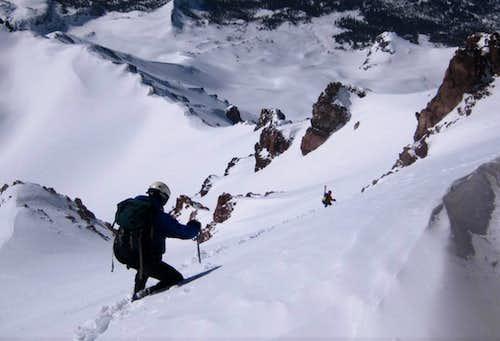 steep traverse