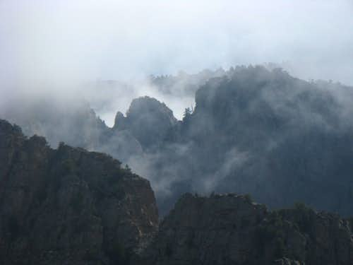 Clouded Ridges to the East