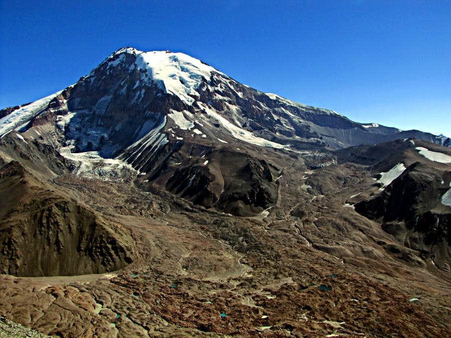 Tupungato from El Fraile Pass