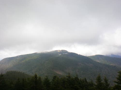 Mount Mitchell...