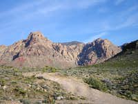 My destination-Windy Peak- Elevation 6,246 ft