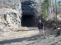 The East End of the Ely's Peak Tunnel