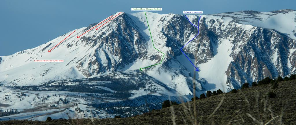 Annotated Mount Wood Descents