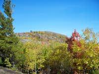 Ely's Peak in Fall
