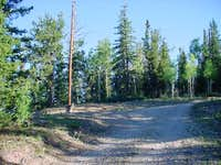 View of the trailhead from...