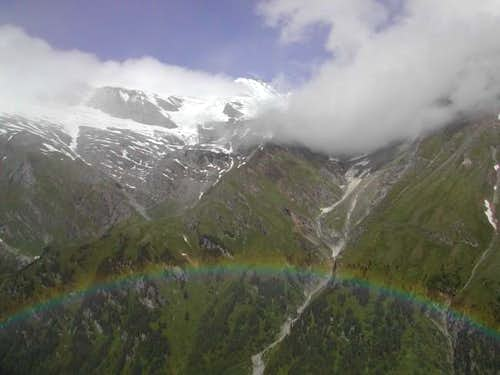 View of the Grossglockner...