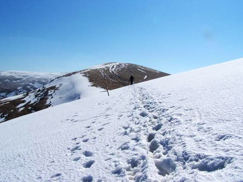 path from Krizna to Ostredok