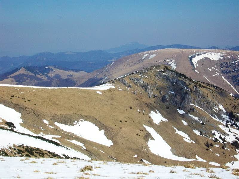 View from Ostredok on Suchy Vrch
