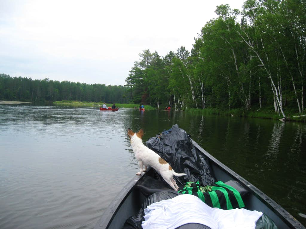 3 days trip on canoe