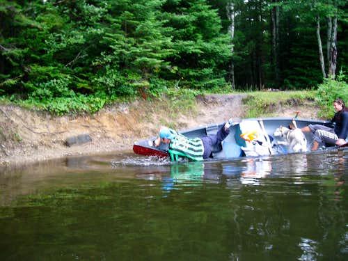 3 days trip on canoe