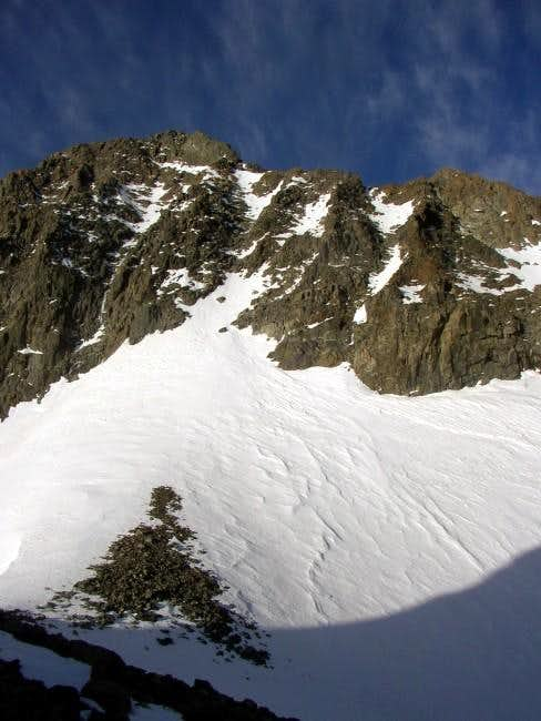 North Face of Mt Ritter Seen from the Saddle