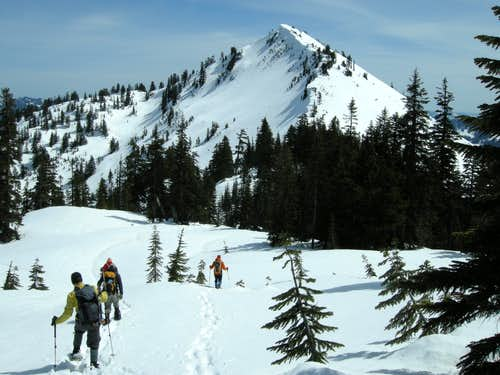Traversing to Granite Mountain