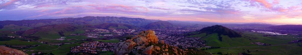 Sunset on Bishop Peak