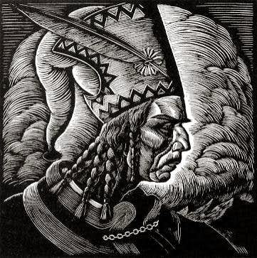 Old representation of Janosik