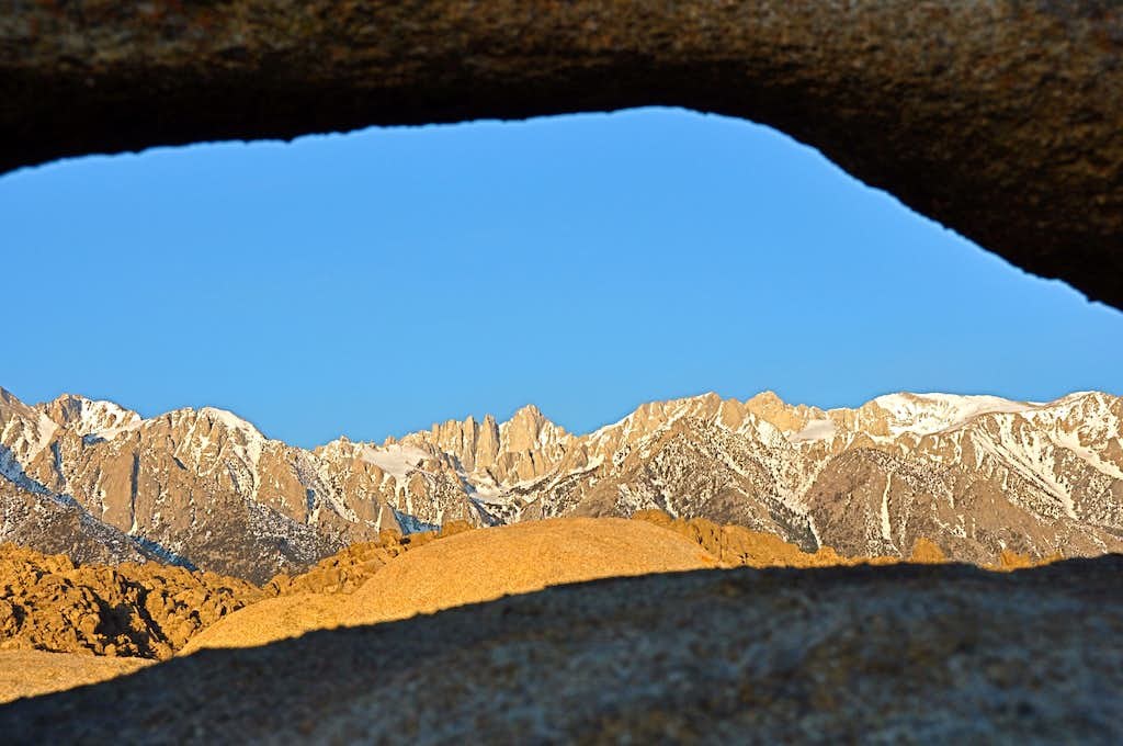 Mount Whitney and family