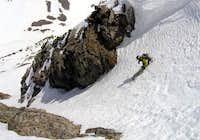 Kilo skis the Nest