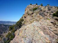 Northeast rim of the Royal Gorge