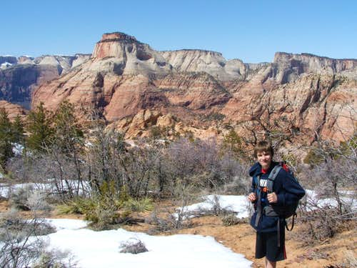 East Zion with a Touch of Snow