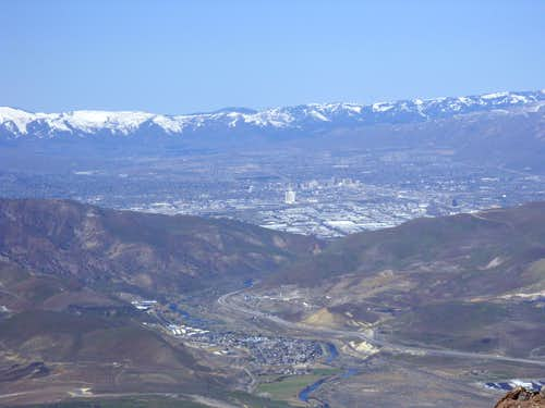 View of Reno, Nevada